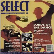Click here for more info about 'Stone Roses - Select - August 1990'