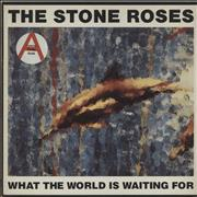 Click here for more info about 'Stone Roses - What The World Is Waiting For + 'Fools Gold' stickered sleeve'