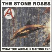 Click here for more info about 'Stone Roses - What The World Is Waiting For - 'Fools Gold' Stickered sleeve'