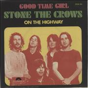 Click here for more info about 'Stone The Crows - Good Time Girl'