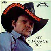 Click here for more info about 'Stonewall Jackson - My Favourite Sin'