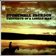 Stonewall Jackson Thoughts Of A Lonely Man USA vinyl LP