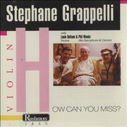 Click here for more info about 'Stéphane Grappelli - How Can You Miss?'