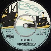 Click here for more info about 'Stranger Cole - Remember'