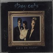 Click here for more info about 'Stray Cats - Elvis On Velvet'
