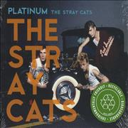 Click here for more info about 'Stray Cats - Platinum'