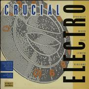Street Sounds Compilation Crucial Electro UK vinyl LP