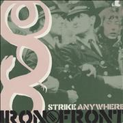 Click here for more info about 'Strike Anywhere - Iron Front - Pink vinyl'