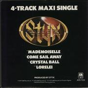 Click here for more info about 'Styx - 4-Track Maxi Single'