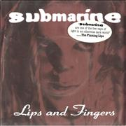 Click here for more info about 'Submarine - Lips And Fingers'