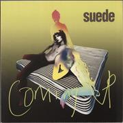 Suede Coming Up + Postcards  - EX UK vinyl LP