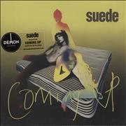 Click here for more info about 'Suede - Coming Up - 180gm Vinyl + Stickered bag'