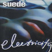 Click here for more info about 'Suede - Electricity'