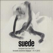 Click here for more info about 'Suede - European Tour Live 2013 - Brussels Ancienne Belgique'