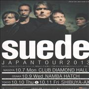 Click here for more info about 'Suede - Japan Tour 2013'