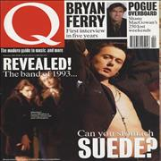 Click here for more info about 'Suede - Q Magazine'