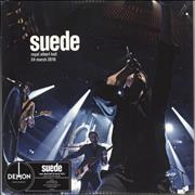 Click here for more info about 'Suede - Royal Albert Hall, 24 March 2010 - 180gm Vinyl - Sealed'