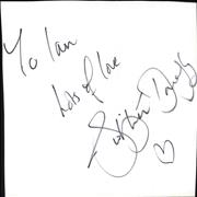 Click here for more info about 'Sugababes - Siobhan Donaghy Autograph'