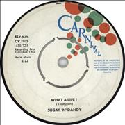 Click here for more info about 'Sugar 'N' Dandy - What A Life! / Time And Tide'