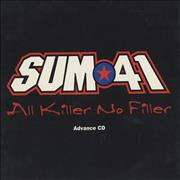 Click here for more info about 'Sum 41 - All Killer No Filler'