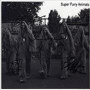 Click here for more info about 'Super Furry Animals - Autographed Publicity Photograph'