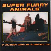 Click here for more info about 'Super Furry Animals - If You Don't Want Me To Destroy You - Poster Sleeve'