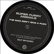 Click here for more info about 'Super Furry Animals - The Man Don't Give A Fuck'