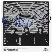 Click here for more info about 'Supergrass - Autographed Publicity Photograph'