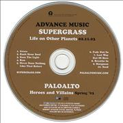 Click here for more info about 'Supergrass - Life On Other Planets'