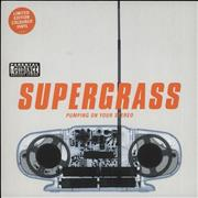 Click here for more info about 'Supergrass - Pumping On Your Stereo - Green Vinyl'
