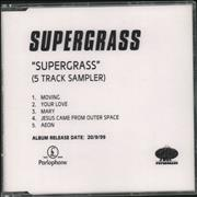 Click here for more info about 'Supergrass - Supergrass - 5-track sampler'