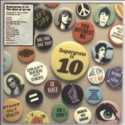 Click here for more info about 'Supergrass - Supergrass Is 10: Best Of 94-04'