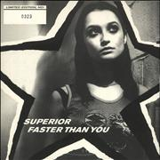Click here for more info about 'Superior - Faster Than You - White vinyl'