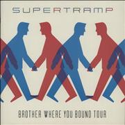 Click here for more info about 'Supertramp - Brother Where You Bound Tour + ticket stub'