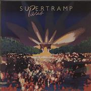 Click here for more info about 'Supertramp - Paris + Gold Stamped P/S'