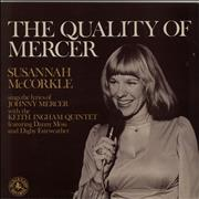 Click here for more info about 'Susannah McCorkle - The Quality Of Mercer'