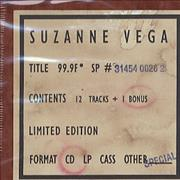 Click here for more info about 'Suzanne Vega - 99.9F° (Ninety Nine Point Nine)'