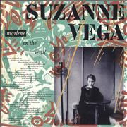 Click here for more info about 'Suzanne Vega - Marlene On The Wall - White/Green background sleeve'