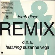 Click here for more info about 'Tom's Diner - DNA Remix - Stickered sleeve'