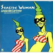 Click here for more info about 'Linda McCartney - Seaside Woman - 2nd A&M Issue - Cartoon P/s'