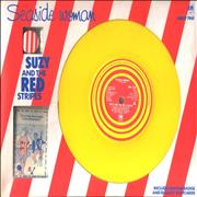 "Suzy And The Red Stripes Seaside Woman - Box - EX UK 7"" box set Promo"