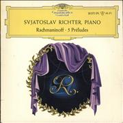 Click here for more info about 'Sviatoslav Richter - Rachmaninoff: 5 Préludes'