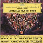 Click here for more info about 'Sviatoslav Richter - Rachmaninov: Concerto For Piano And Orchestra No. 2 in C Minor, Op.18 / 6 Preludes'