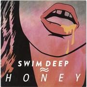 "Swim Deep Honey UK 7"" vinyl"
