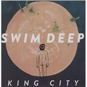 Swim Deep King City UK CD-R acetate Promo