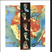 Swim Deep Mothers - Amber Haze Vinyl + Autographed UK vinyl LP