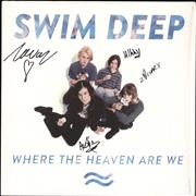 Swim Deep Where The Heaven Are We - Autographed UK vinyl LP