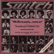 Click here for more info about 'Switch (Motown) - We Like To Party... Come On'