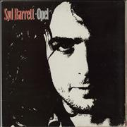 Click here for more info about 'Syd Barrett - Opel - EX'