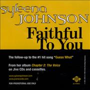 Click here for more info about 'Syleena Johnson - Faithful To You'